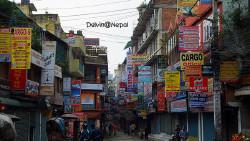 尼泊尔景点-泰米尔街