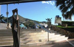 【锡切斯图片】在西切斯的艺术酒店迎新年之六:2010年元旦早晨的风景
