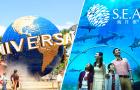 新加坡环球影城+S.E.A.海洋馆/滨海湾花园 二合一联票(无需打?。? width=