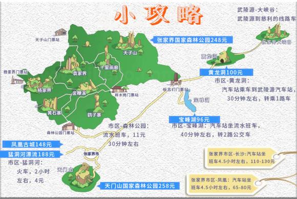 全天自由行:可自行前往【武陵源】风景区,乘景区环保
