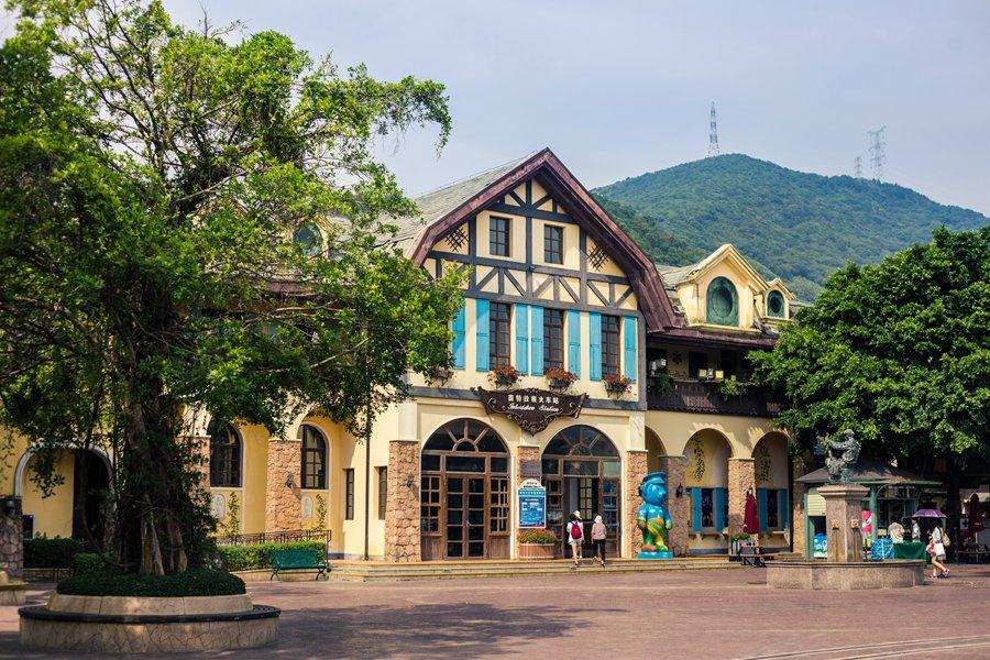 岭南森林小镇建筑风格