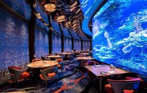 迪拜美食-帆船酒店海底餐厅Al Mahara
