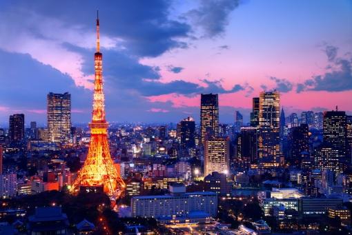 河津樱花祭,铁塔观夜景,箱根缆车观富士山,东京黄金地段四星舒适酒店