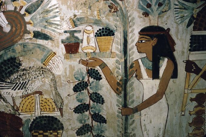 贵族墓中描绘埃及日常生活的壁画 BY 芝华林-探秘埃及法老的神秘力图片