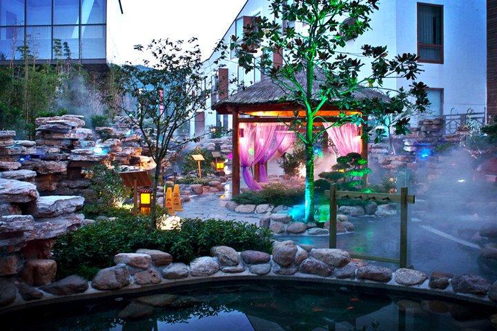 2,苏州树山书香世家度假酒店(真正被山水环抱的温泉~)