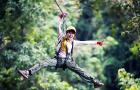 咨询有惊喜丨清迈 · 丛林飞跃体验/飞跃天际Skyline42平台(酒店接送+多时间段可选+泰式自助餐)