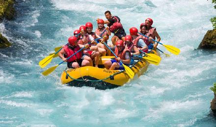 巴厘岛必玩体验 热带丛林 阿勇河漂流一日游(赠送照片