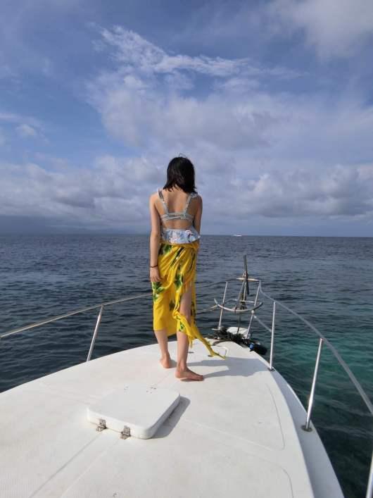 巴厘岛 蓝梦双层游艇出海海钓一日游
