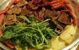 丹东美食-韩山城韩式煎肉