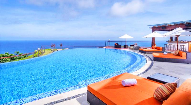 奢华享受体验 巴厘岛 the edge悬崖酒店梦幻海景下午茶 可加选私密