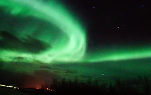 【北欧图片】北欧四国|雪夜星空,遇见你便是幸运