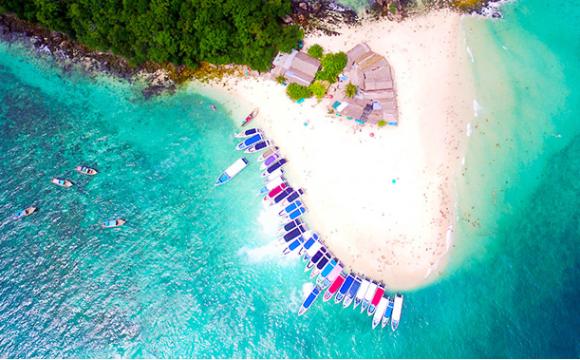 普吉岛蛋岛 蜜月岛一日游(蛋岛亲子专线,与鱼群亲密接触,蜜月岛追逐海