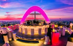 曼谷美食-Red Sky Bar