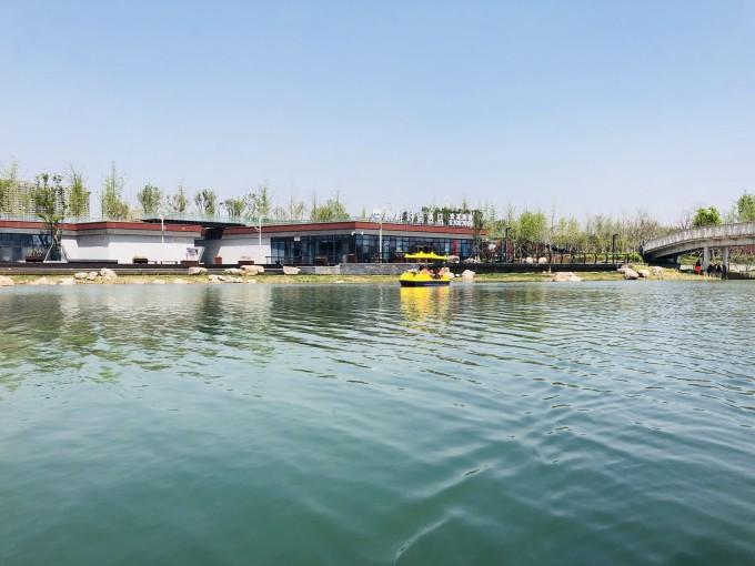 郑州双鹤湖中央公园又有大型接待喽
