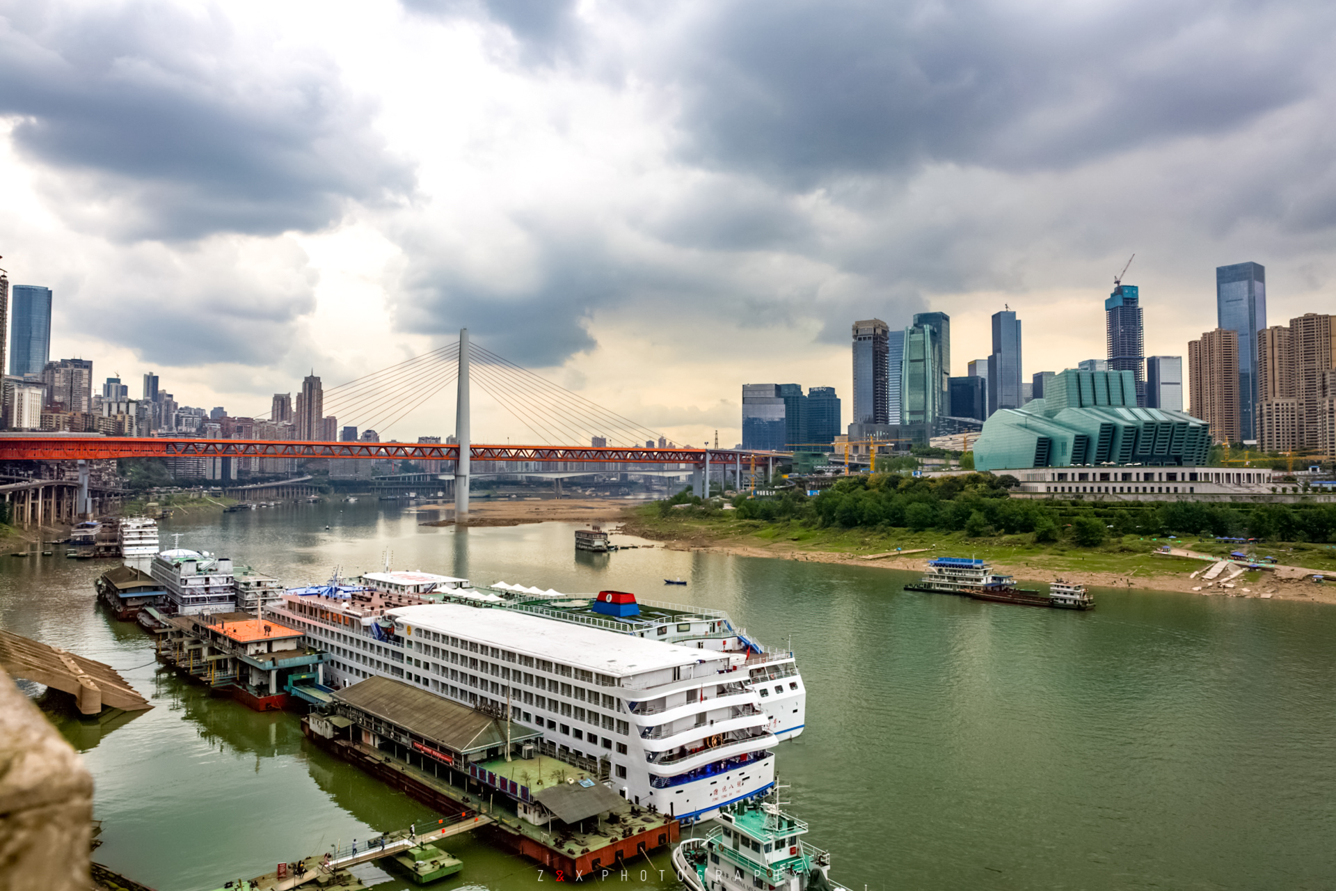 ChongQing Airpot/railway station -Yangtze River Cruise Port