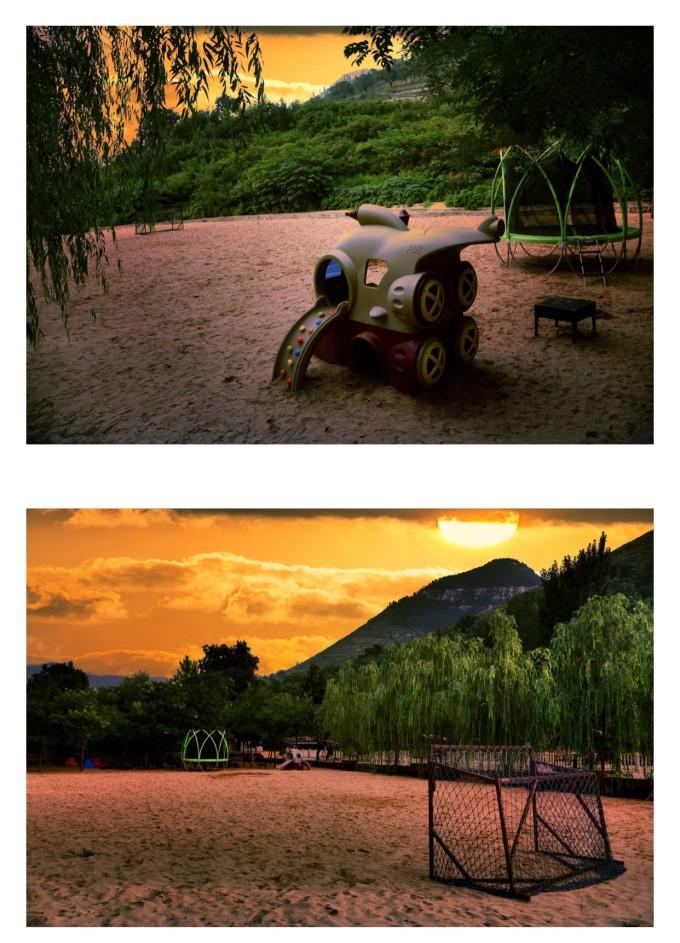 在山中度个小假~朱水湾房车露营地,淄博旅游攻略