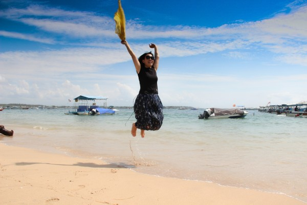 巴厘岛 游记           蓝湾是水上项目中心,各种水上项目这里都有