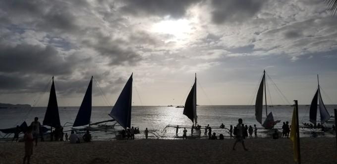 最美的晚霞,最长的白沙.长滩岛自由行.