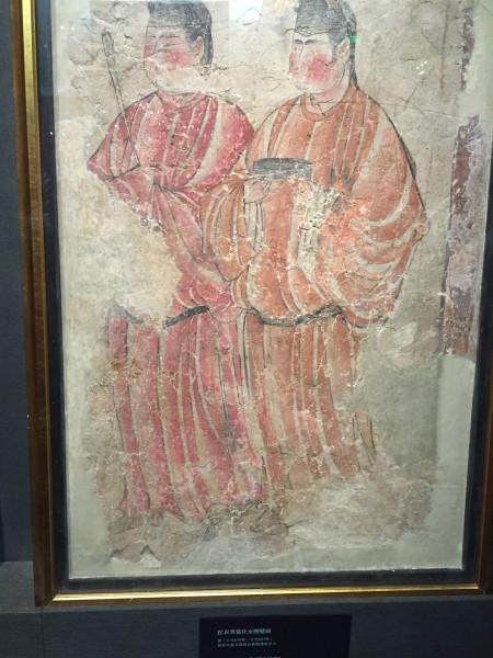 唐代仕女着男装图.可以看出当时社会的开放和包容.图片
