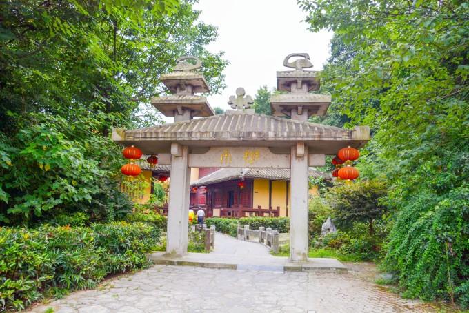 武汉东湖磨山景区(5a)(1)楚楼 楚市