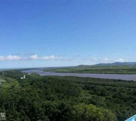 珲春防川一眼望三国风景区