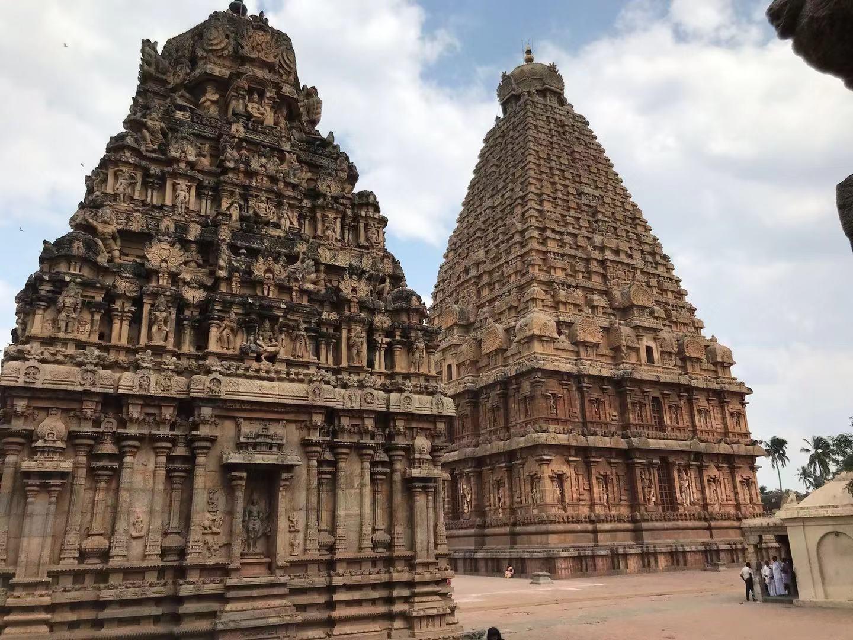 贾武尔Thanjavur感受印度宗教文化,印度南部旅丰盛古镇自助游攻略图片