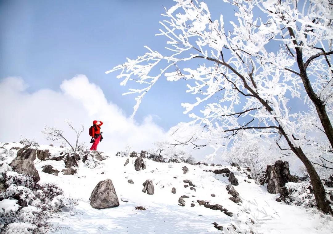 宜昌冬天風景區