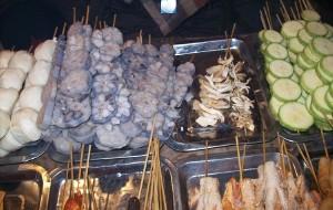 泰山美食-环山路烧烤区