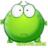 一只绿青蛙