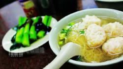 香港美食-龙记招牌云吞