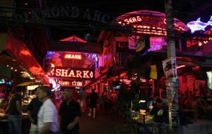 泰国娱乐-芭提雅步行街