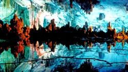 桂林景点-芦笛岩景区(Reed Flute Cave)