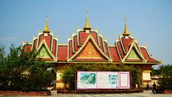西双版纳景点-勐泐大佛寺