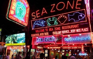 芭提雅美食-海滩路夜市