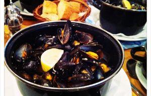 爱丁堡美食-Mussel Inn