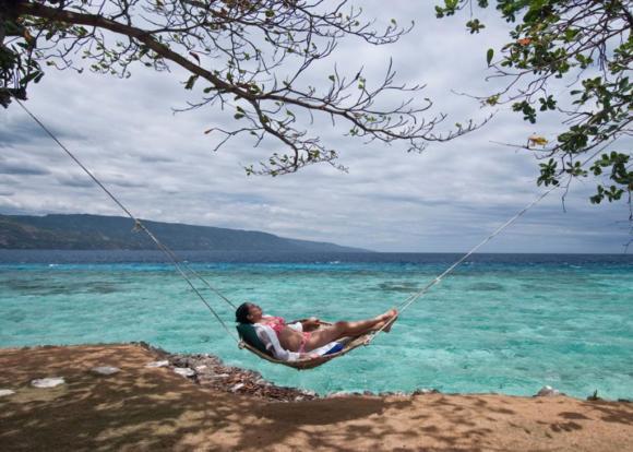 (四星,蓝水岛)菲律宾苏米龙岛蓝水岛度假村酒店(一岛一酒店 无边泳池)