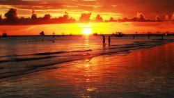 长滩岛景点-马纳科-马纳科海滩(Manoc-Manoc beach)