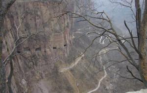 【郭亮图片】2015年图记--春节行走之崖壁上的郭亮