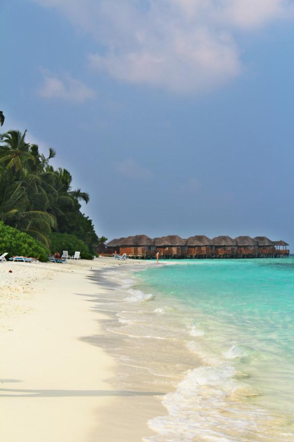 马尔代夫旅游攻略 印度洋上的明珠-马尔代夫菲哈后岛之行   水的深浅