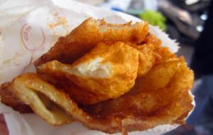 花莲美食-老牌炸蛋葱油饼