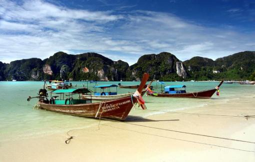 泰国普吉岛之蜜月岛 双体帆船浮潜一日游(含午餐 三大
