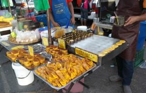 兰卡威美食-瓜镇夜市