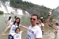 #消暑假期#广西北海、德天跨国瀑布之暑驾
