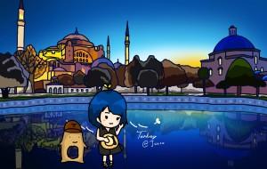 【棉花堡图片】星月旗下手绘土耳其之旅@丁susu