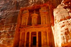 北石:约旦佩特拉,雕刻千年时光