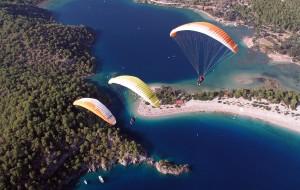 土耳其娱乐-费特希耶滑翔伞