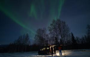 【费尔班克斯图片】想念那片纯净安详的雪,绚烂如人生的极光--阿拉斯加游记