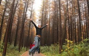 【南江图片】第一次游光雾山;看红叶,游山间