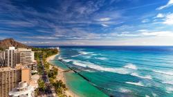 夏威夷景点-威基基海滩(Waikiki Beach)