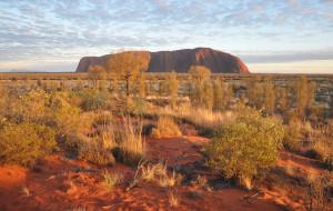 【乌鲁鲁-卡塔曲塔国家公园图片】澳洲心脏——乌鲁鲁岩